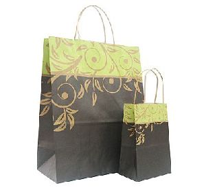Colored Paper Shopping Bag 02