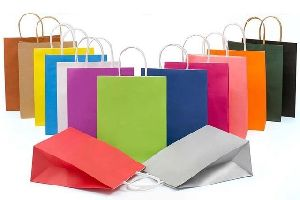 Colored Paper Shopping Bag 04