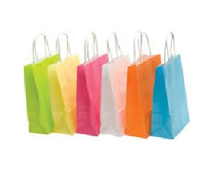 Colored Paper Shopping Bag 05