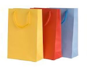 Colored Paper Shopping Bag 06