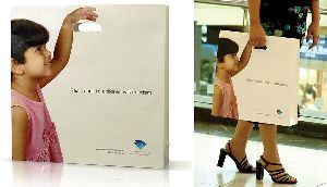White Paper Shopping Bag 02