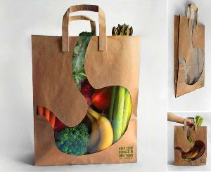 White Paper Shopping Bag 04
