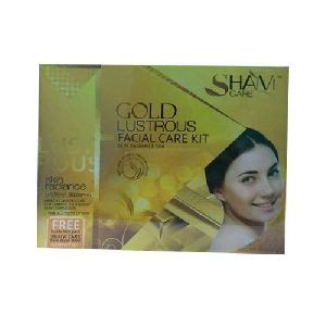 Gold Lustrous Facial Kit