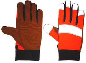 FH10146-OR Mechanic Gloves