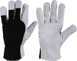 Assembling Gloves / Top Quality Nappa Leather Work Gloves / Goatskin Work Gloves, Mechanic Gloves