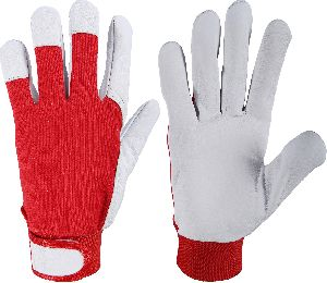 Top Quality Assembling Gloves, Nappa Leather Work Gloves / Mechanic Gloves in Best Quality Leather / Goatskin Work Gloves