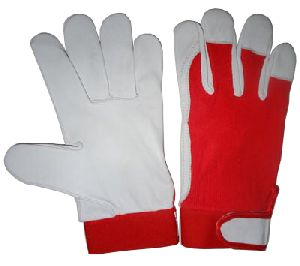 Assembling Gloves, Nappa Leather Work Gloves / Goatskin Work Gloves / Mechanic Work Gloves