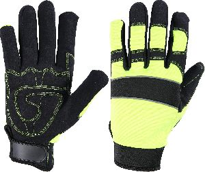 Top Quality Auto Mechanic Gloves, Safety Gloves / Leather Working Gloves / Impact Gloves, Mechanic Gloves