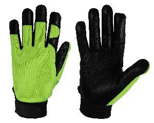 FH416E Hi-Vis Green Mechanic Gloves