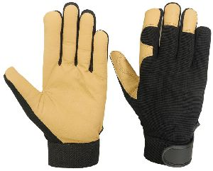 Good Quality Mechanic Gloves / Goatskin Palm Mechanic Gloves / Superb Mechanic Gloves, Goatskin Mechanic Gloves