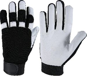 Best Quality Mechanic Gloves / Premium Goatskin Palm Mechanic Gloves/ Safety Gloves, Auto Mechanic Gloves
