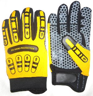 Best Quality Impact Gloves, Oil and Gas Gloves , Non-Slip Gloves / Impact Protection Gloves / Oil and Gas Field Gloves