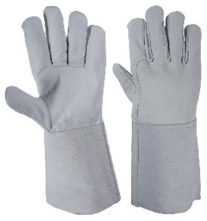 Tig Welding Gloves in Goatskin / Argon Welding Gloves in Nappa Leather / Argon Gloves / Welding Gloves