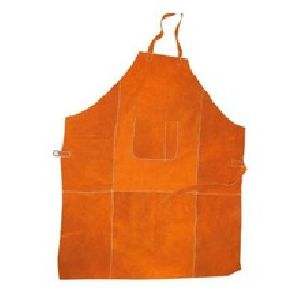 FH814 Leather Safety Apron