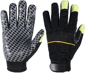Mechanic Gloves / Working Gloves / Best Mechanical Gloves / Scilicon Printed Gloves