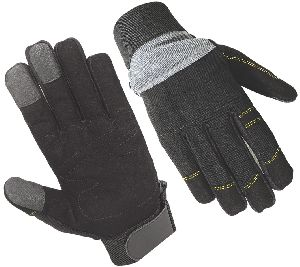 Top Quality Mechanic Gloves / Synthetic Leather Glove/ Safety Gloves / Mechanical Gloves