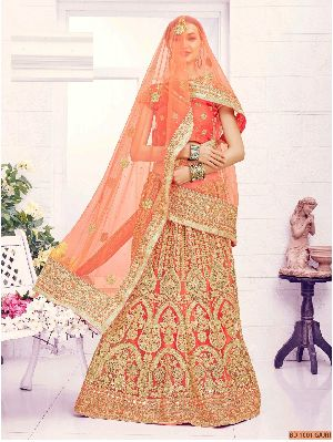 BD 1001 Gajri Collection Bridal Lehenga Choli