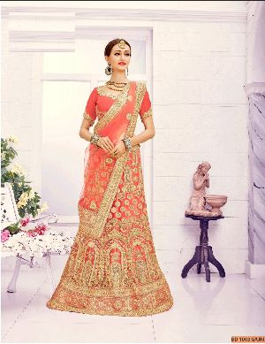 BD 1003 Gajri Collection Bridal Lehenga Choli