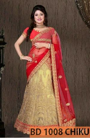 BD 1008  Chiku Collection Bridal Lehenga Choli