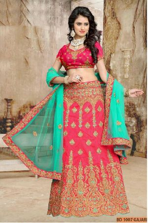 BD 1007 Gajri Collection Bridal Lehenga Choli
