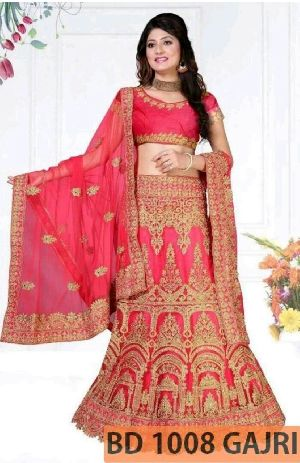BD 1008 Gajri Collection Bridal Lehenga Choli