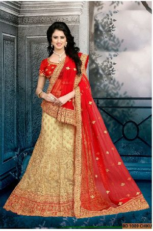 BD 1009  Chiku Collection Bridal Lehenga Choli