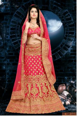BD 1009 Gajri Collection Bridal Lehenga Choli