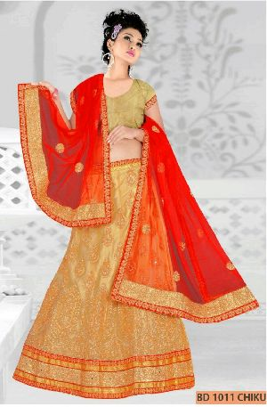 BD 1011  Chiku Collection Bridal Lehenga Choli