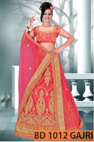 BD 1012 Gajri Collection Bridal Lehenga Choli