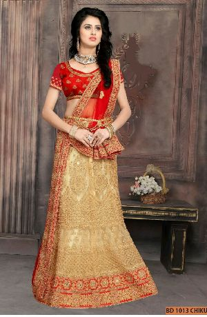 BD 1013  Chiku Collection Bridal Lehenga Choli