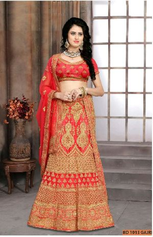 BD 1013 Gajri Collection Bridal Lehenga Choli