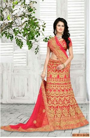 BD 1014 Gajri Collection Bridal Lehenga Choli