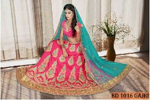 BD 1016 Gajri Collection Bridal Lehenga Choli