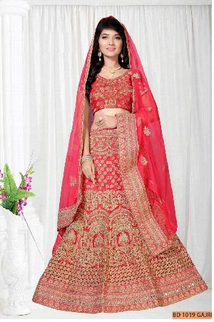 BD 1019 Gajri Collection Bridal Lehenga Choli