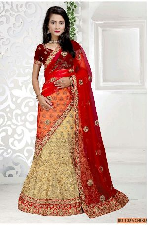 BD 1026 Chiku Collection Bridal Lehenga Choli