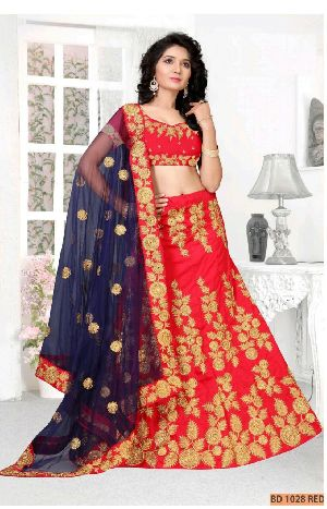 BD 1028 Red Collection Bridal Lehenga Choli
