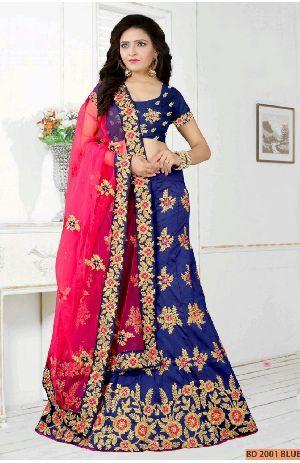 BD 2001 Blue Collection Bridal Lehenga Choli