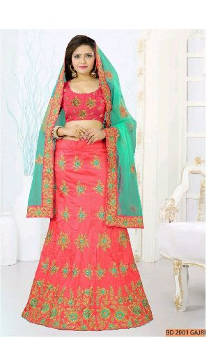 BD 2001 Gajri Collection Bridal Lehenga Choli