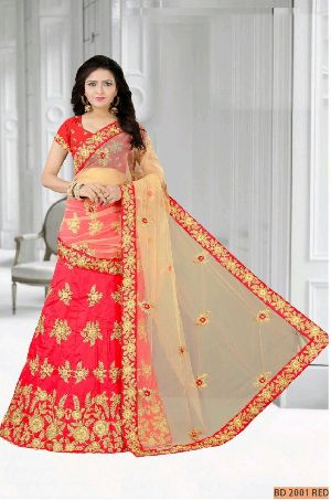 BD 2001 Red Collection Bridal Lehenga Choli