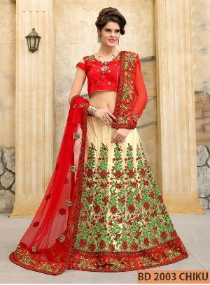 BD 2003  Chiku Collection Bridal Lehenga Choli