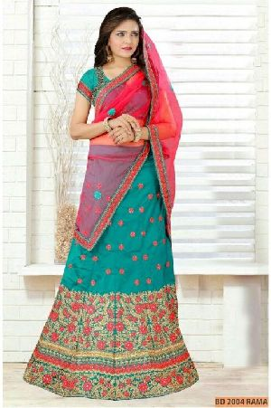 BD 2004 Rama Collection Bridal Lehenga Choli