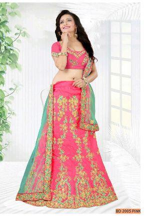BD 2005  Pink Collection Bridal Lehenga Choli