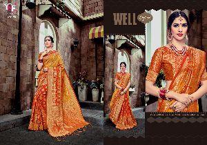 Bhanusia Silk BN- 2 Banglori Silk Saree