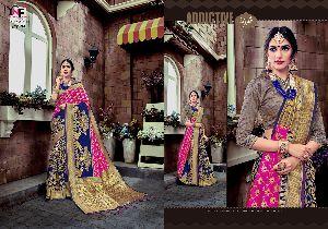 Bhanusia Silk BN- 4 Banglori Silk Saree