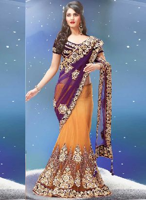 Bridal Net Sarees