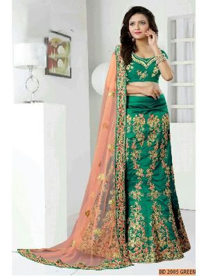 Green Collection Bridal Lehenga Choli