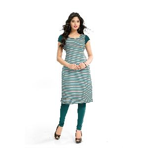 K-59 Harley Green Cotton Kurti
