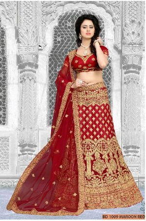 Maroon Collection Bridal Lehenga Choli
