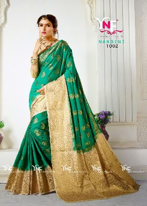 Nandini 1002 Nylon Silk Saree