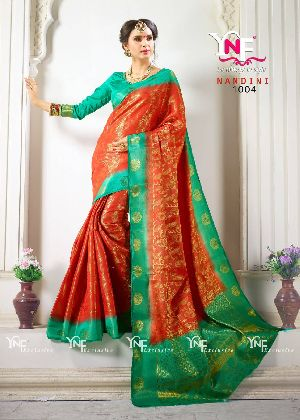 Nandini 1004 Nylon Silk Saree